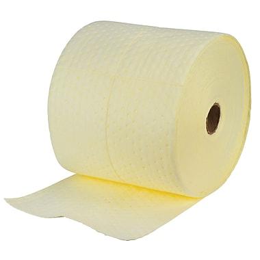 Zenith Safety Products – Rouleau absorbant laminé pour matières dangereuses, 15 po x 150 pi, poids moyen