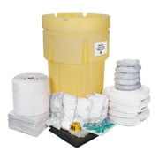 Zenith Safety Products SEJ264 Spill Kit, Mobile, Zenith, Oil, 95-Gal Capacity