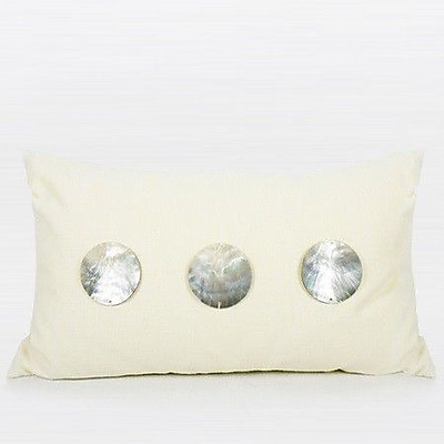 G Home Collection Handmade Round Shell Pillow Cover