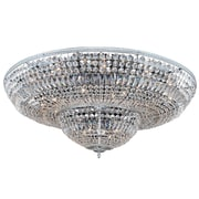 Allegri Lemire 24-Light Semi-Flush Mount; Chrome