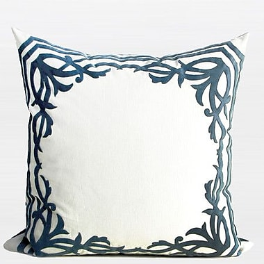 G Home Collection European Frame Embroidered Pillow Cover