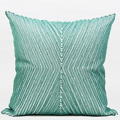 G Home Collection X Shape Pillow Cover