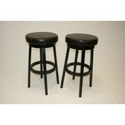 eHemco 29.5'' Swivel Bar Stool (Set of 2)