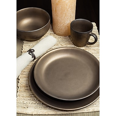 Tablescapes by Gaia Group LLC Teton 16 Piece Dinnerware Set