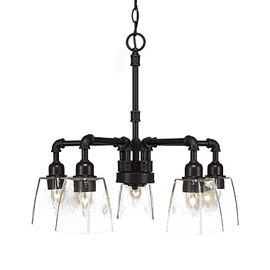 Toltec Lighting 5-Light Candle-Style Chandelier