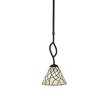 Toltec Lighting Revo 1-Light Mini Pendant