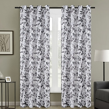Urbanest Central Park Curtain Panels (Set of 2); 54'' W x 84'' L