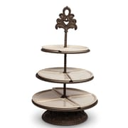 TGGC 3-Tiered Server and Metal Base Tiered Stand