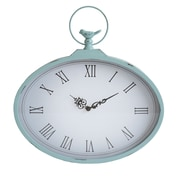 Stratton Home Decor Shabby Wall Clock