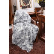 Lindsey Home Fashion Kanekaron Faux Fur Throw