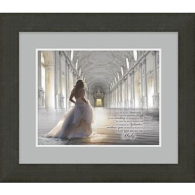 Carpentree 'The Bride of Christ - Awaiting the King' by James Nesbitt Framed Graphic Art