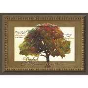 Carpentree Traditional Classics 'Rooted and Grounded' Framed Graphic Art