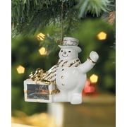 WildWings Terry Redlin ''Family Traditions'' Snowman Christmas Ornament