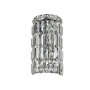 StarrySkyTradingInc. 2-Light Clear Crystal Cascade Wall Sconce
