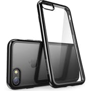 i-Blason Apple iPhone 7 Plus Halo Series Scratch Resistant Clear Case - Clear/Black (752454313211)