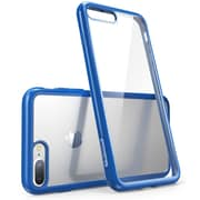 i-Blason Apple iPhone 7 Halo Series Scratch Resistant Clear Case - Clear/Navy (752454312740)