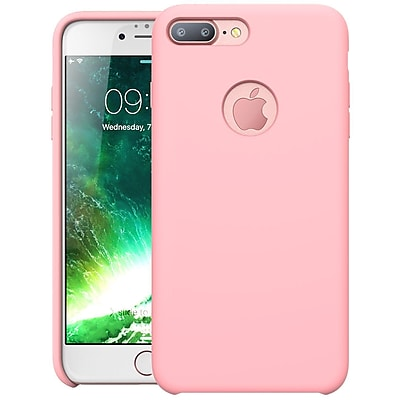 i-Blason Apple iPhone 7 Plus Flexible Silicone Case - Pink (752454313839)