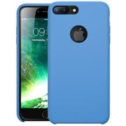 i-Blason Apple iPhone 7 Plus Flexible Silicone Case - Blue (752454313846)