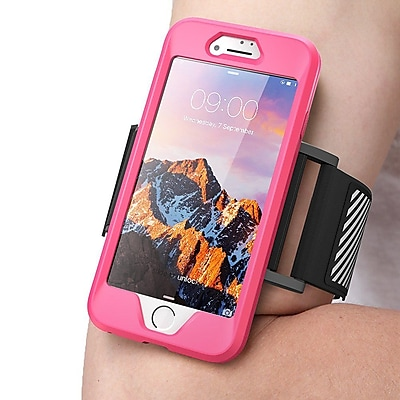 SUPCASE Apple iPhone 7 Easy Fitting Sport Armband Case Combo - Pink (752454313037)