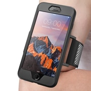 SUPCASE Apple iPhone 7 Plus Easy Fitting Sport Armband Case Combo - Black (752454313501)