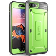 SUPCASE Apple iPhone 7 Plus Unicorn Beetle Pro Series Protective Case with Screen & Holster, Green/Gray (752454313440)