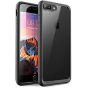 SUPCASE Apple iPhone 7 Plus Unicorn Beetle Style Series Hybrid Clear Case - Black (752454313655)