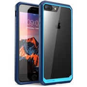 SUPCASE Apple iPhone 7 Plus Unicorn Beetle Series Hybrid Case - Clear/Blue/Navy (752454313358)