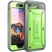SUPCASE Apple iPhone 7 Unicorn Beetle Pro Series Fullbody Protective Case with Screen and Holster - Green/Gray (752454312962)