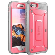 SUPCASE Apple iPhone 7 Unicorn Beetle Pro Series Fullbody Protective Case with Screen and Holster - Pink/Gray (752454312955)