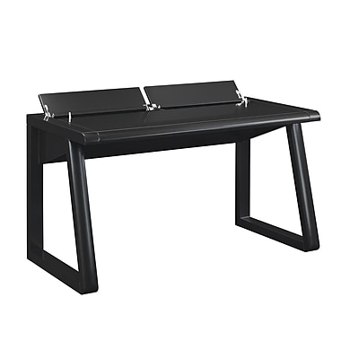 Bell'O Emory Desk with Flip-up Compartments, Black (OD9488-53B961)