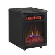 Duraflame Portable Electric Infrared Quartz Heater, Black  (10IF9239BLK)