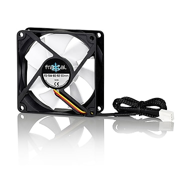 Fractal Design – Ventilateur de boîtier Silent Series R2, 80 mm (FD-FAN-SSR2-80)