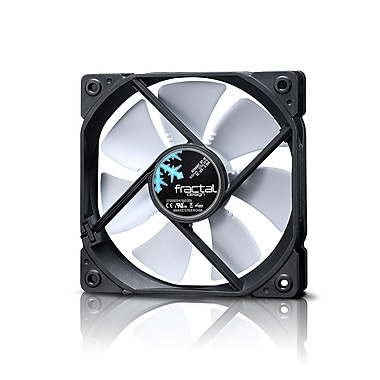 Fractal Design – Ventilateur de boîtier Dynamic GP12, blanc (FD-Fan,-DYN-GP12-WT)
