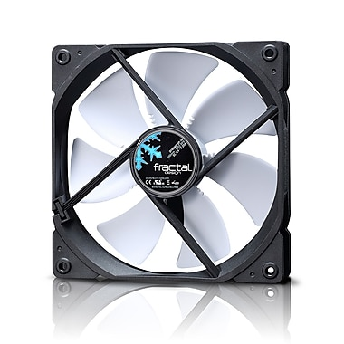 Fractal Design – Ventilateur de boîtier Dynamic GP14, blanc (FD-Fan,-DYN-GP14-WT)