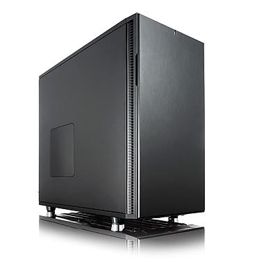 Fractal Design – Boîtier d'ordinateur ATX silencieux Define R5 édition Blackout (FD-CA-DEF-R5-BKO)