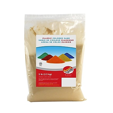 Sandtastik® Classic Coloured Sand, 5 lb (2.3 kg) Bag, Peach