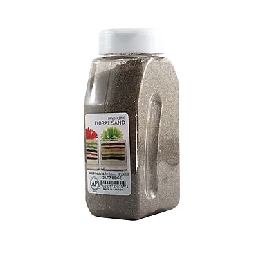 Sandtastik® Floral Coloured Sand, 28 oz (795 g) Bottle, Beige