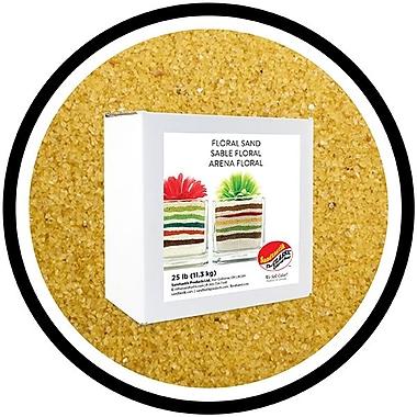 Sandtastik® Floral Coloured Sand, 25 lb (11.3 kg) Box, Buttercup