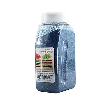 Sandtastik® Floral Coloured Sand, 28 oz (795 g) Bottle, Blue Hawaii