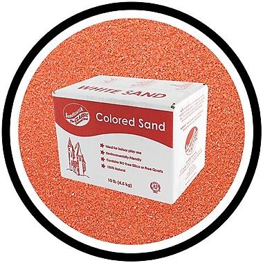Sandtastik® Classic Coloured Sand, 10 lb (4.5 kg) Box, Coral