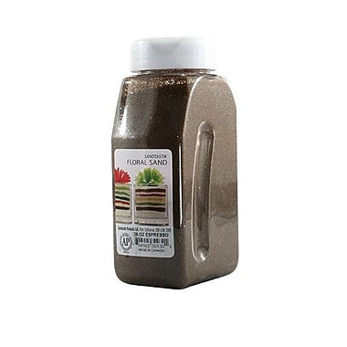Sandtastik® Floral Coloured Sand, 28 oz (795 g) Bottle, Espresso