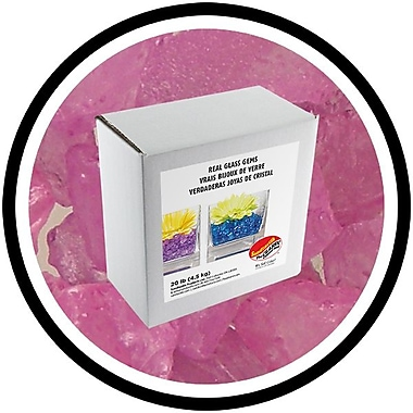 Sandtastik® Coloured ICE Gems, 20 lb, Purple