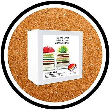Sandtastik® Floral Coloured Sand, 25 lb (11.3 kg) Box, Marigold
