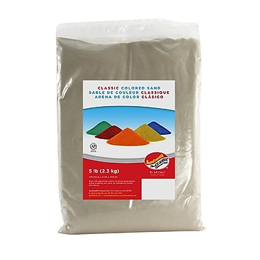Sandtastik® Classic Coloured Sand, 5 lb (2.3 kg) Bag, Beach