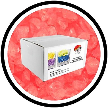 Sandtastik® Coloured ICE Gems, 10 lb, Coral, 3/Pack