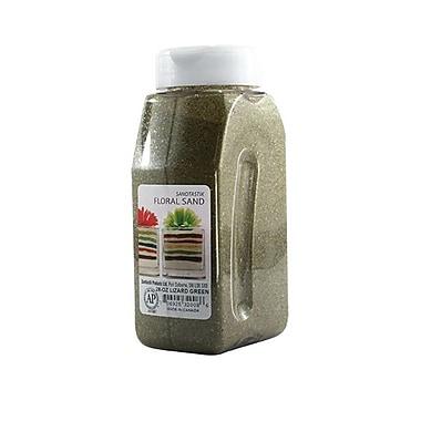 Sandtastik® Floral Coloured Sand, 28 oz (795 g) Bottle, Lizard Green