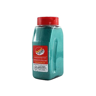 Sandtastik® Classic Coloured Sand, 28 oz (795 g) Bottle, Green