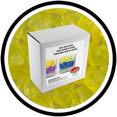 Sandtastik® Coloured ICE Gems, 20 lb, Yellow