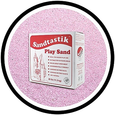 Sandtastik® Classic Coloured Sand, 25 lb (11.3 kg) Box, Lavender