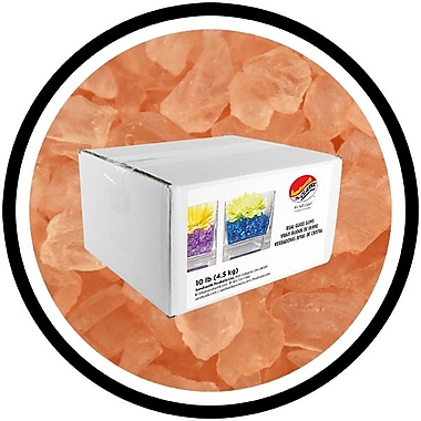 Sandtastik® Coloured ICE Gems, 10 lb, Peach, 3/Pack
